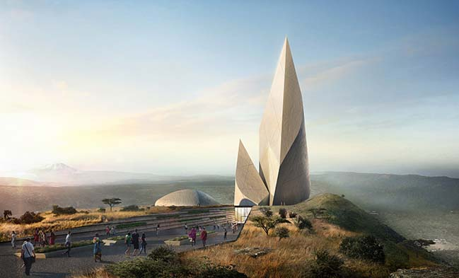 Ngaren: The Museum of Humankind by Studio Libeskind