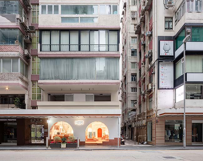 CLAP studio creates a shopping experience inspired by Mars in Hong Kong