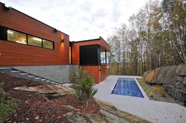 Pilon-Hébert Residence by ESPACE VITAL architecture
