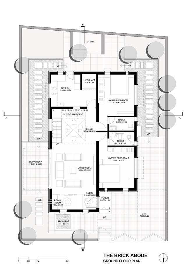 The Brick Abode By Alok Kothari Architects