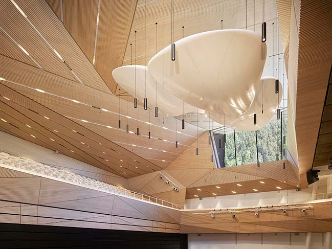 Andermatt Concert Hall by Studio Seilern Architects inaugurated with a concert by Berliner Philharmoniker