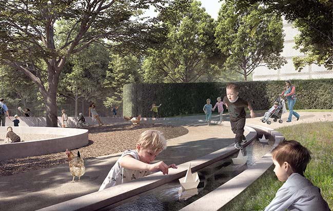 Henning Larsen has won of an open competition to revitalize Esbjerg Bypark