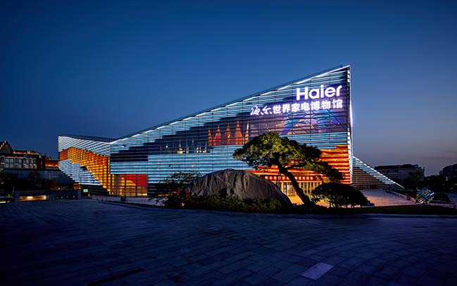 Haier Home Appliance Museum by ATELIER BRÜCKNER opens in Qingdao