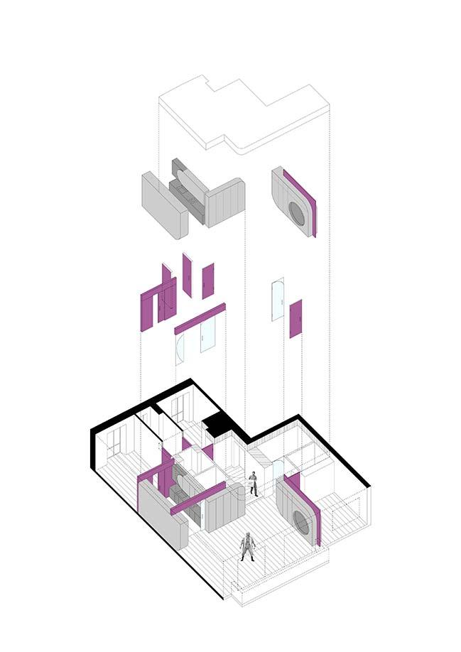 Camera House in Turin by BODA architetti