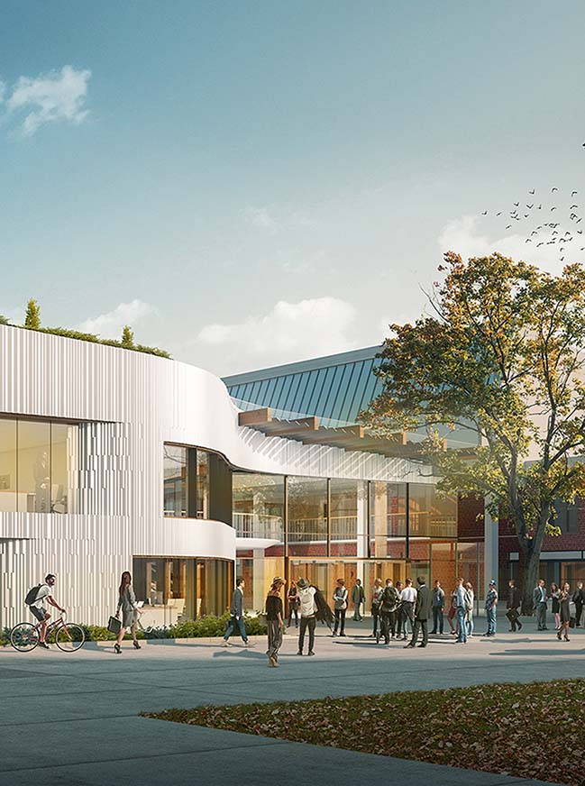 UNStudio wins competition for Business School at UCA Epsom
