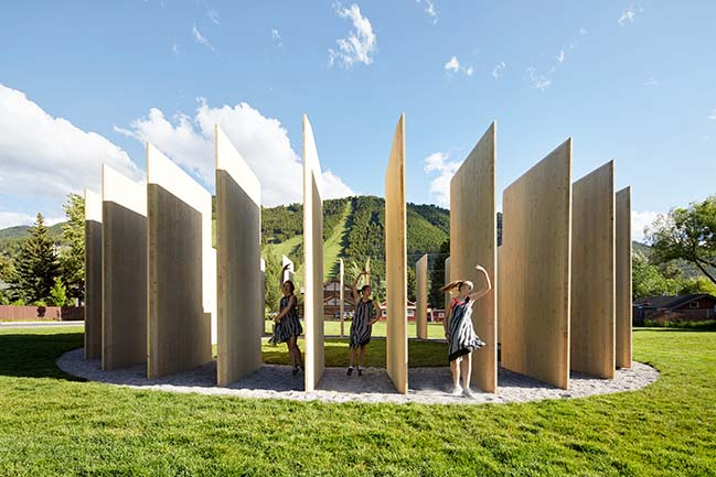 Town Enclosure Pavilion by CLB Architects