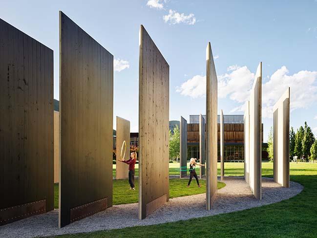 Town Enclosure Pavilion by CLB Architects