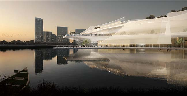 Yiwu Grand Theater by MAD Architects