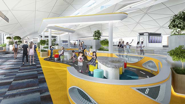 Lead8 to Design Hong Kong International Airport T1 Renovation