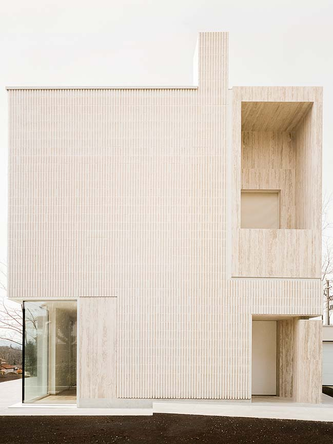 The House of the Archeologist by LCA architetti