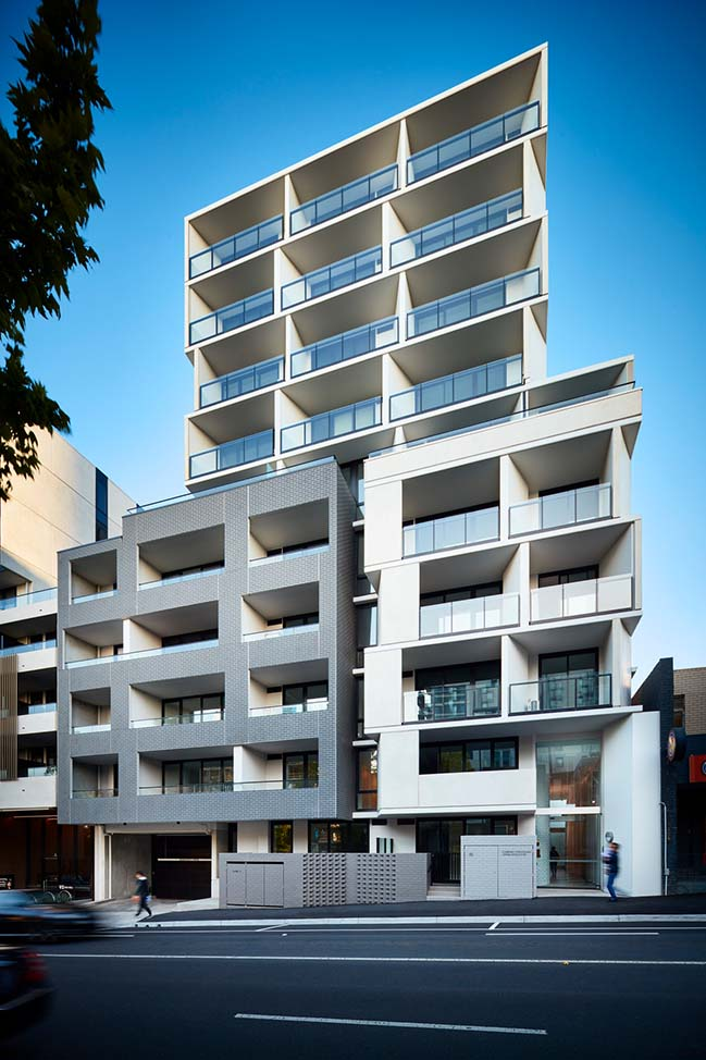 Belle Apartments in Melbourne by Plus Architecture