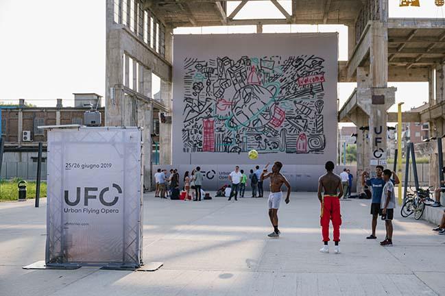 UFO-Urban Flying Opera by CRA - Carlo Ratti Associati