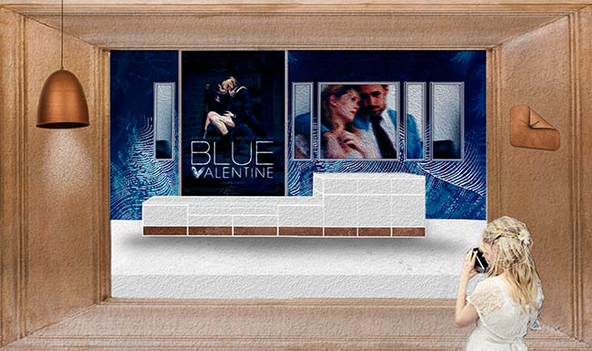 Deep Blue Valentine by Sim-Plex Design Studio