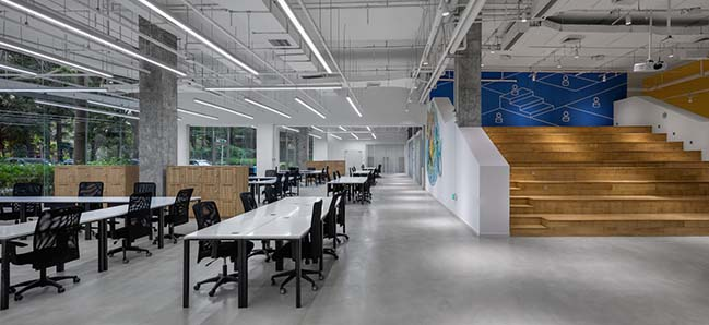 Decathlon Shenzhen Innovation Hub by Hauner Architecture