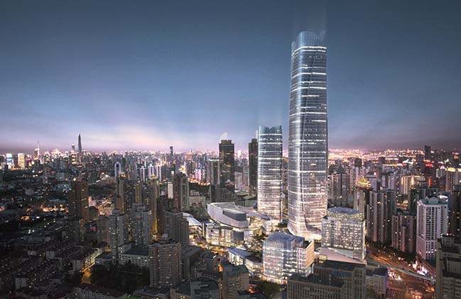 Lead8 Unveils Design for Major Shanghai ITC Development