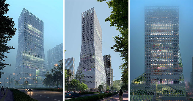 Mecanoo awarded 1st Prize at Futian Civic Culture Center Competition