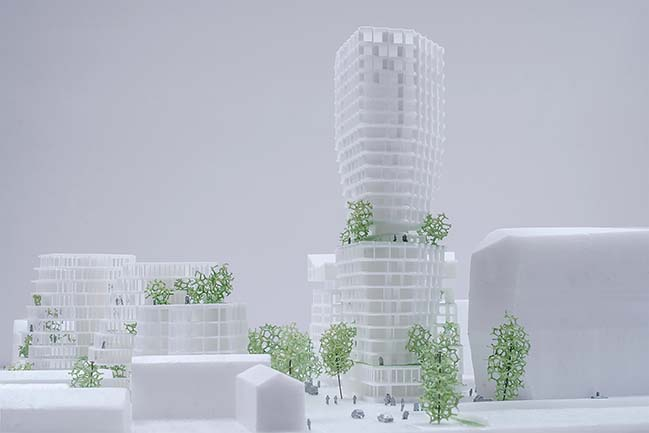 The Féval Tower by JDS Architects
