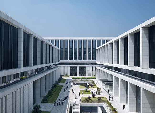 Energy landscape, Green campus for China Southern Power Grid by gmp Architekten