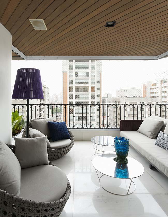 Higienópolis Apartment by Diego Revollo Arquitetura