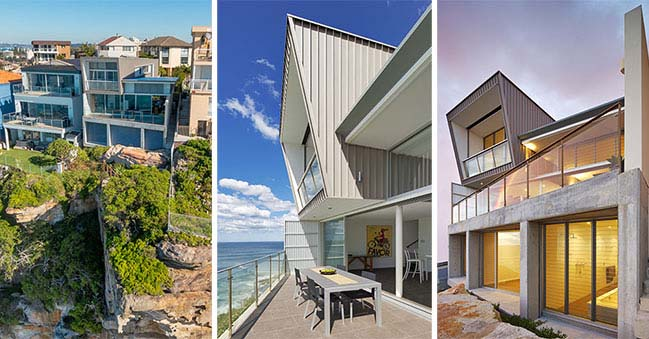 Clifftop House in Sydney by Utz-Sanby Architects