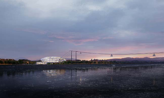 Blagoveshchensk Cable Car Terminal by UNStudio
