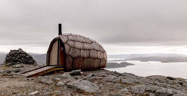 Hammerfest Hiking Cabins by SPINN Arkitekter