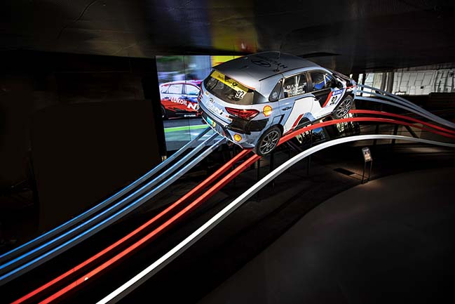 Hyundai N Brand: New exhibition at Hyundai Motorstudio Goyang by ATELIER BRÜCKNER