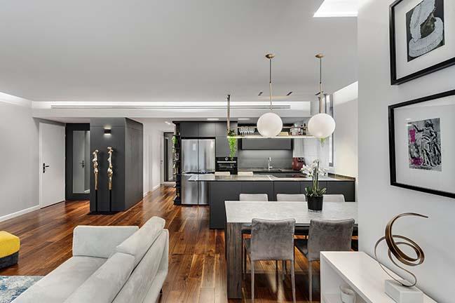 From rough to a real diamond - apartment by Studio Neta-li Noy