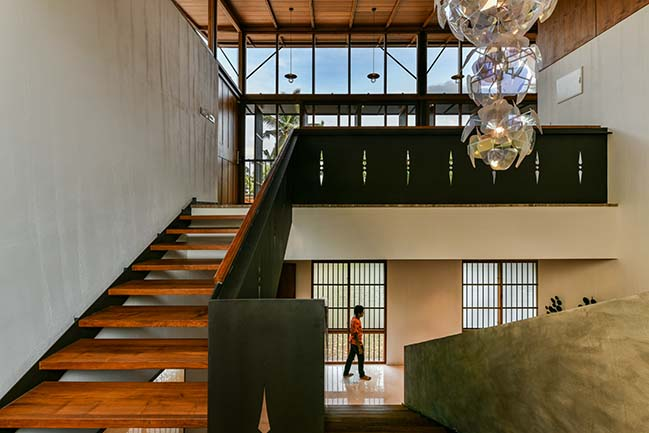 The Skew House by Thought Parallels Architecture