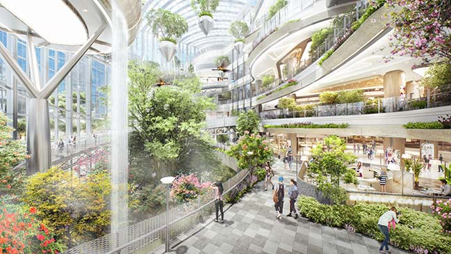 Lead8 Designs Botanic-Inspired Retail for Hongkong Land