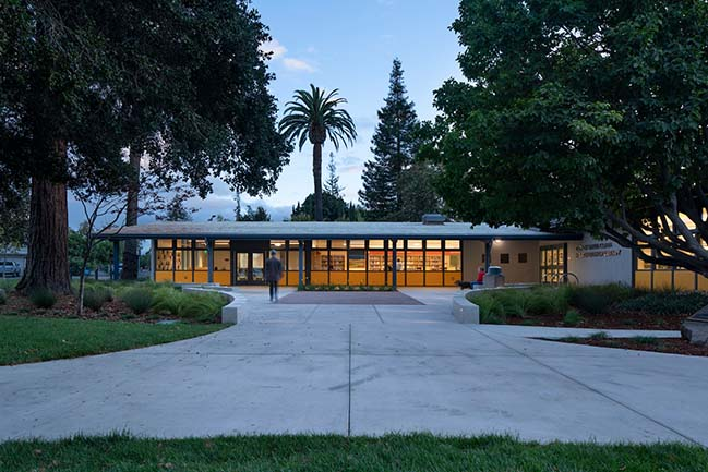 Mission Branch Library Renovation by Noll & Tam Architects