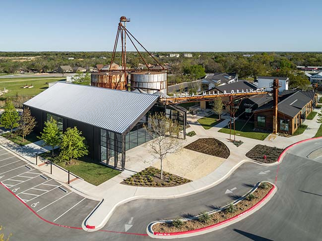 Buda Mill and Grain Co. by CTA | Cushing Terrell