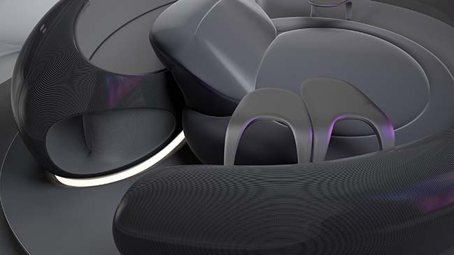 LOOP Immersive Sound Lounge by ZHVR for L-Acoustics Creations