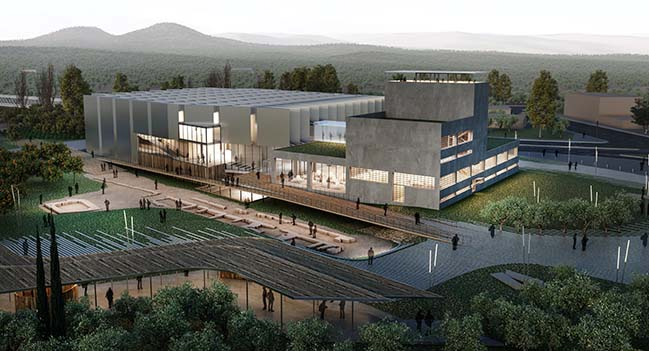 MYTHOS & TOPOS - New Archaeological Museum of Sparta by Petrās Architecture