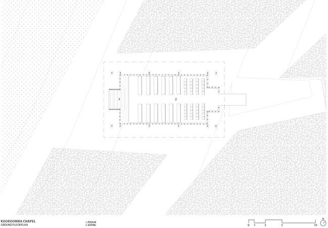 Kooroomba Chapel by Wilson Architects
