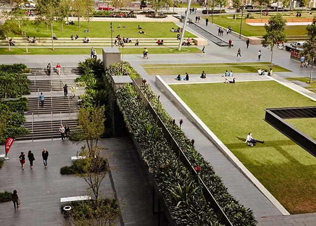 Central Park Public Domain by Turf Design Studio