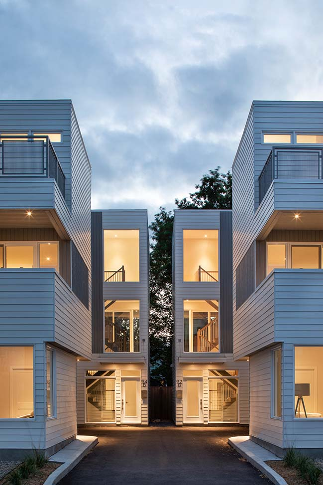 Pinhey Infill by Christopher Simmonds Architect Inc.