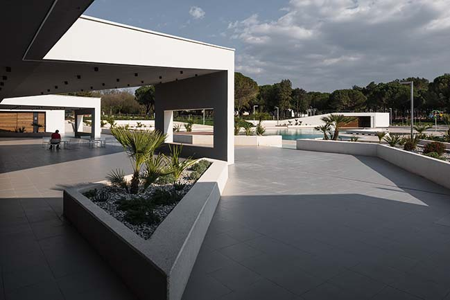 Camping Stella Maris Swimming Pool and Reception by NFO d.o.o.