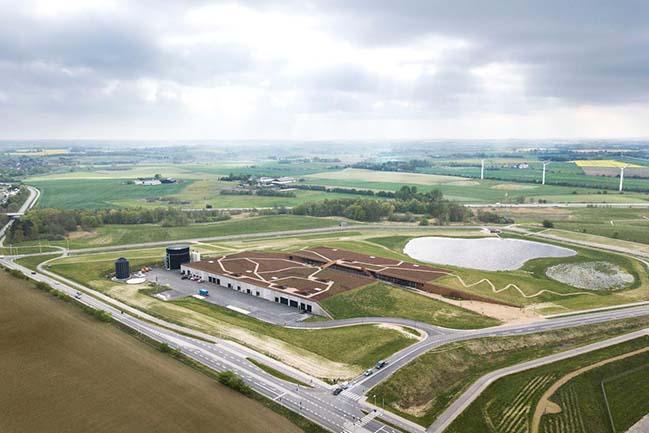 Solrødgaard Water Treatment Plant by Henning Larsen