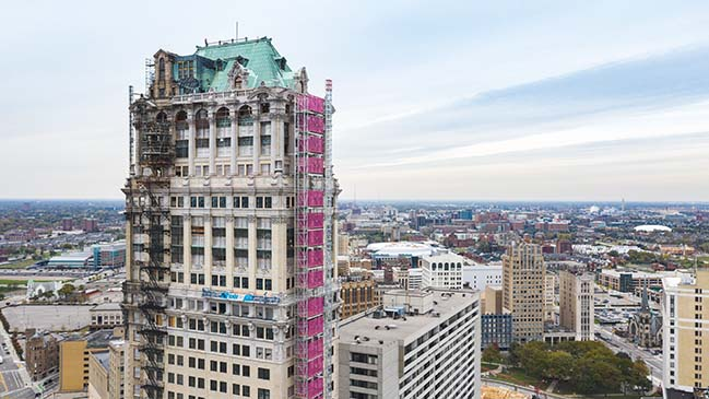 ODA Architecture Tapped for Detroit Book Tower Rehabilitation