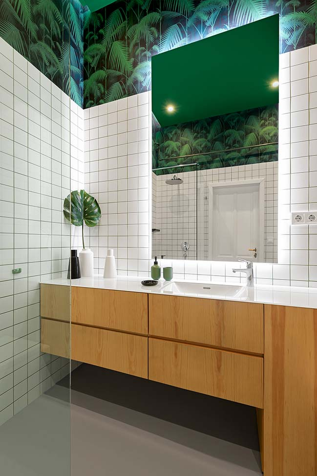 Apartment V in Budapest by Architres Studio