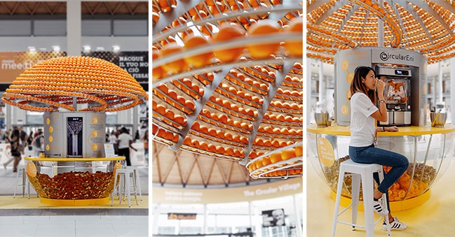 Feel the Peel by Carlo Ratti Associati