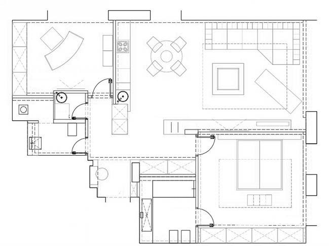 Garden Areas by Belugina Art Design Studio
