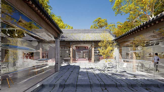 Force Field Hutong by Daipu Architects
