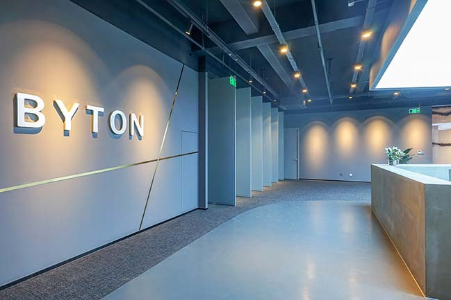 Byton Nanjing Office by inDeco