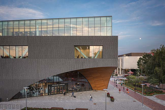Charles Library at Temple University by Snøhetta