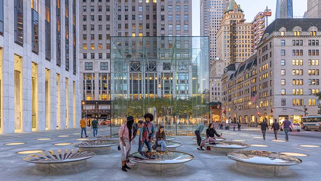 Iconic Apple Fifth Avenue blends history, placemaking and innovation