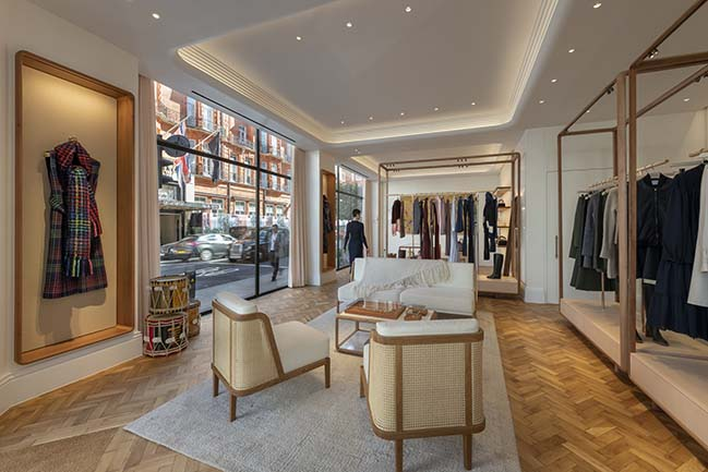 Gabriela Hearst's sustainable London store by Foster + Partners opens