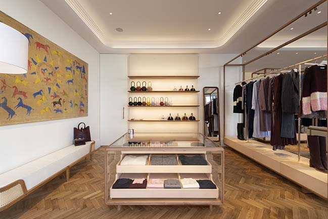 Gabriela Hearst sustainable London store by Foster + Partners opens