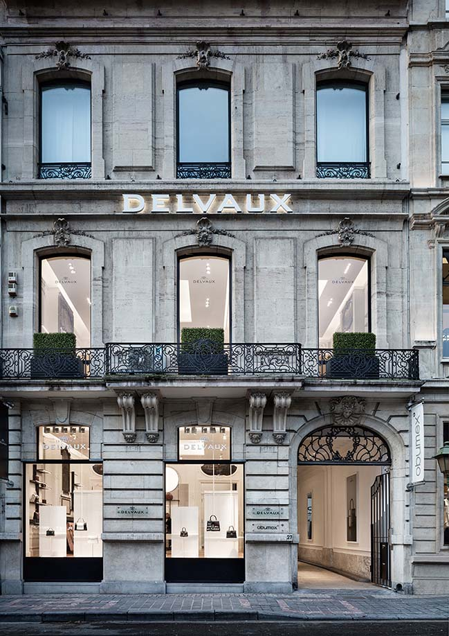 Delvaux Le 27 by Vudafieri-Saverino Partners wins the Prix Versailles 2019
